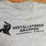Egen logo på t-skjorter