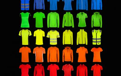 T-skjorter, gensere, jakker og treningstøy